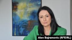 Aida Obućina, premijerka Bosansko-podrinjskog kantona, Gorazde