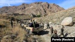 افغان سرتیري د عملیاتو پر مهال