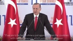 Erdogan Not Supportive Of U.S. Iran Deal Pullout