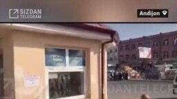 """АНДИЖОН – Ичимлик сотадиган савдо шаҳобчасида каламушлар """"рақсга тушмоқда"""""""