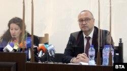 Председателите на Специализирания наказателен съд и Апелативния специализиран наказателен съд - Мариета Райкова и Георги Ушев, по време на представянето на отчетите на двете институции за 2020 г., 18 май 2021 г.