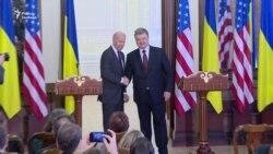 Санкції треба зберігати до виконання Росією Мінських угод – Байден (відео)