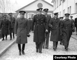 Regele Mihai în vizită la Regimentul de Gardă Călare