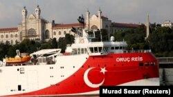 کشتی اکتشافی ترکیه با نام «عروج رئیس» بار دیگر راهی آبهای مورد مناقشه شرق مدیترانه شد