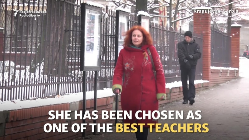 Serbian Teacher Named Among World's Best
