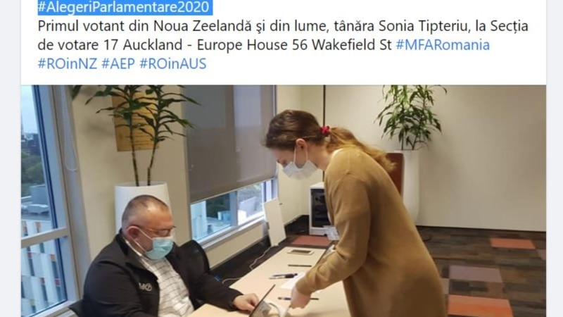 România, parlamentare 2020: a început votul în străinătate