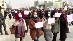 Former Afghan Government Workers Demand Jobs Back