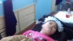 «Заснувших» детей пытаются привести в чувство