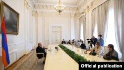 Նախագահի հանդիպումը եվրոպացի լրագրողների հետ, 13-ը հոկտեմբերի, 2020