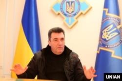 Секретар Ради національної безпеки і оборони України Олексій Данілов