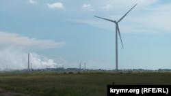 Першокостянтинівка, Херсонська область, завод «Кримський Титан»
