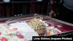 Racla cu moaștele Sf. Parascheva