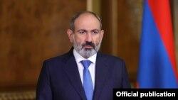 Премьер-министр Армении Никол Пашинян выступает на 76-й сессии Генеральной Ассамблеи ООН, Ереван-Нью-Йорк, 24 сентября 2021 г.