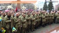 До Івано-Франківська повернулися військові з Дебальцева