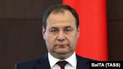 Беларустун премьер-министри Роман Головченко