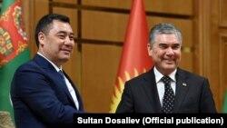 Kyrgyz President Sadyr Japarov and his Turkmen counterpart, Gurbanguly Berdymukhammedov, met in Ashgabat.