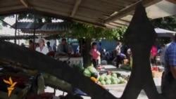 La piața din Sculeni