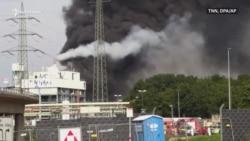 Shpërthim në parkun industrial të Leverkuzenit