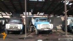 Ձյան առաջին փաթիլի հետ հայտնվում են ձյուն մաքրող մեքենաները