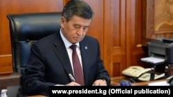 Киргистанскиот претседател Соронбаи Јенбеков