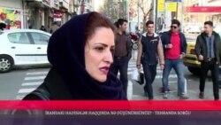 İrandakı etirazlar haqda nə düşünürsünüz? [Tehranda sorğu]