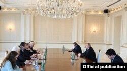 Azərbaycan prezidenti İlham Əliyev ATƏT-in Minsk qrupu həmsədrlərini qəbul edib, 12 dekabr 2020