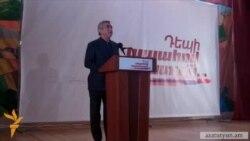 Սերժ Սարգսյանը ընտրողների հետ հանդիպումներ է անցկացնում Սյունիքում