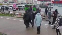 Belarusians March Again In Minsk Streets