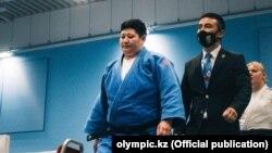 Казакстандык дзюдочу Зарина Байбатина Токиодогу Паралимпиаданын күмүш медалын жеңди. 29-август, 2021-жыл