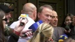 Медведчук прибув до Офісу генпрокурора (відео)