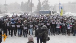 Під Апеляційний суд Києва прийшли підтримати Павличенків