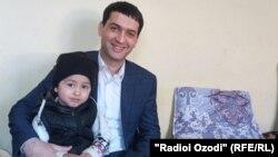 Далер Шарифов у себя дома в Вахдате, 29 января 2021 года