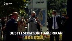 Inaugurohet busti i senatorit Bob Dole në Prishtinë