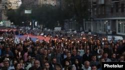 Шествие в Ереване