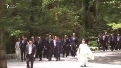 Dünya liderləri Yaponiyada