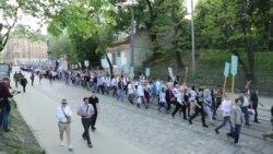 У Львові провели марш на честь вояків дивізії «Галичина» (відео)