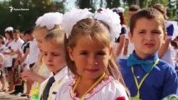 Esas Ukrainada ilk sefer qırımtatar sınıfı açıldı (video)