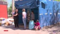Многодетная семья пять дней живет на улице