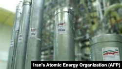 According to its 2015 nuclear deal, Iran can only use the less-efficient, first-generation IR-1 centrifuges at the underground plant. (file photo)