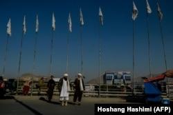 Талибы на улицах Кабула, 26 сентября 2021 года