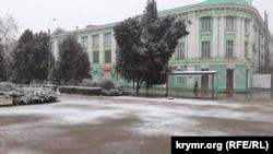 Первый снег в Керчи, 20 декабря 2020 год