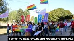 Повідомляється, що на марші було близько 500 учасників як із Запоріжжя, так і з інших міст