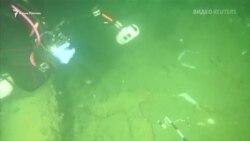 В Черном море нашли парусник древних римлян (видео)