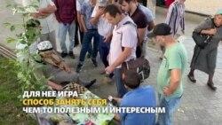 Дагестан. Цхьанге а эшалуш йоцу жIаьккехловзархо Баба Хадижат