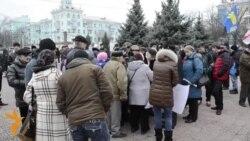 Луганська облрада засудила Єврореволюцію