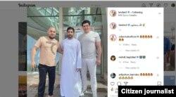 Otabek Umarov shayx Hamdon bin Zayd bilan