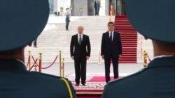 Путин с госвизитом посетил Кыргызстан