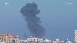 Ізраїль відповів на обстріл. Частину із 400 ракет зі Смуги Гази було перехоплено – відео