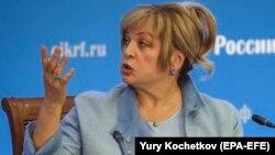 Ella Pamfilova, the Russian Central Election Commission head