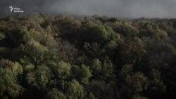 Туман у Києві. Відео з дрона